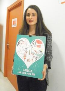 Ganadora del Concurso de carteles San Juan 2015
