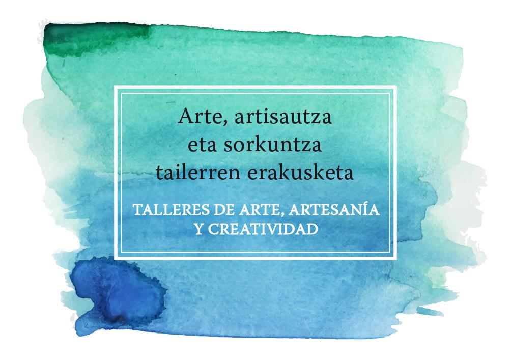 Talleres arte, artesanía y creatividad