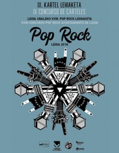 Concurso carteles Pop Rock Leioa