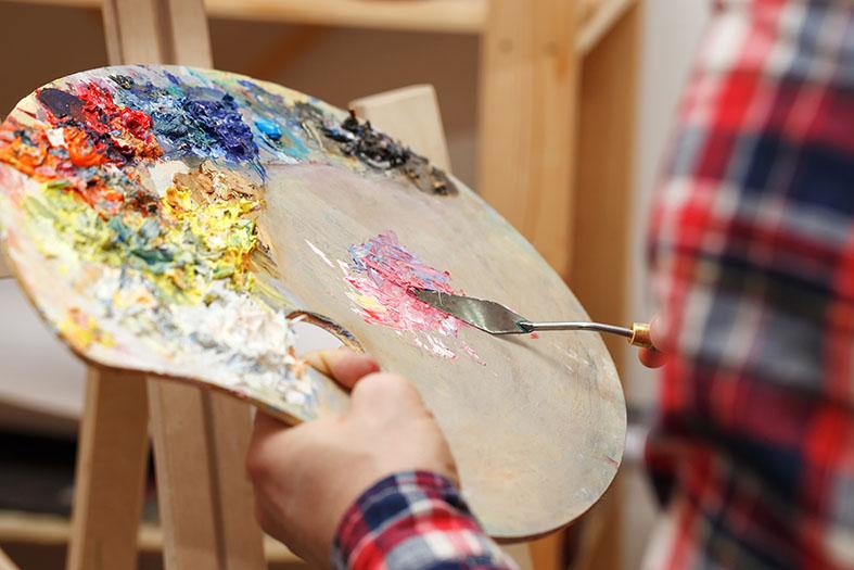 Exposición talleres arte, artesanía y creatividad