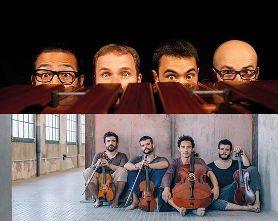 Píscore + Aupa Quartet