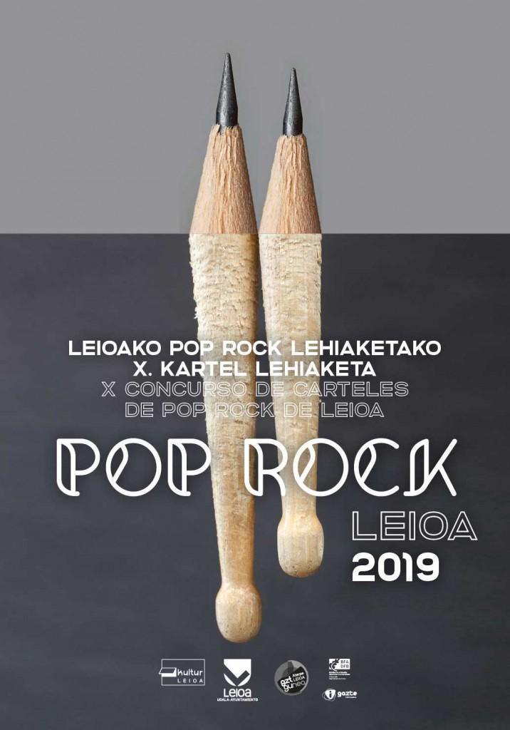 Concurso cartel pop rock Leioa