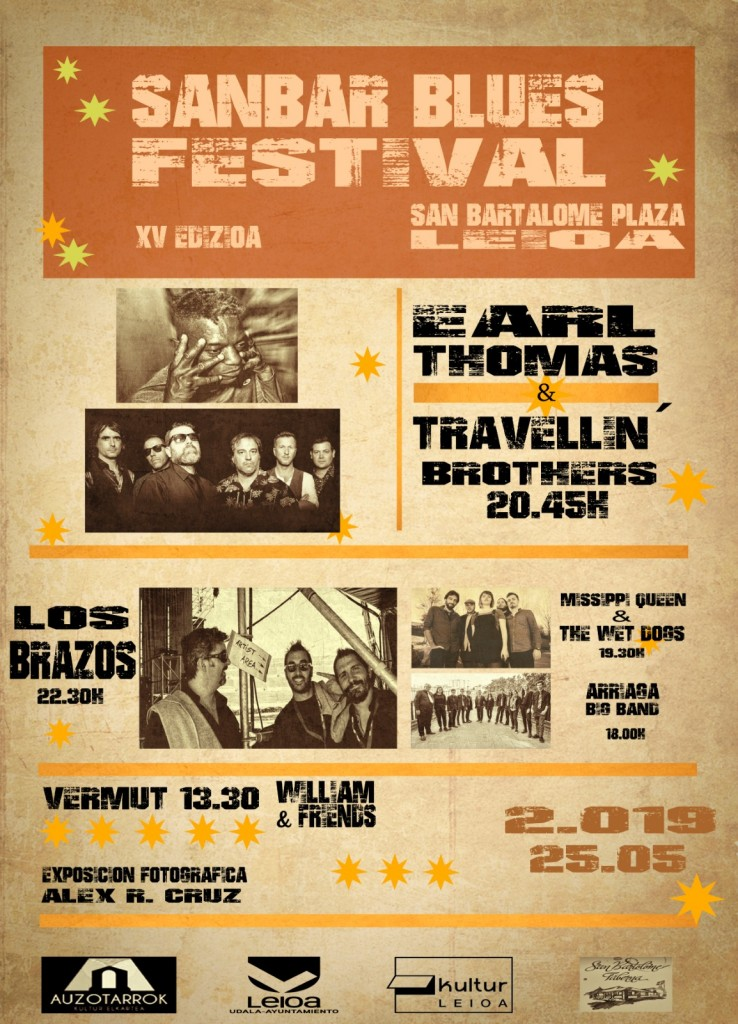 XV SanBar Blues Festival