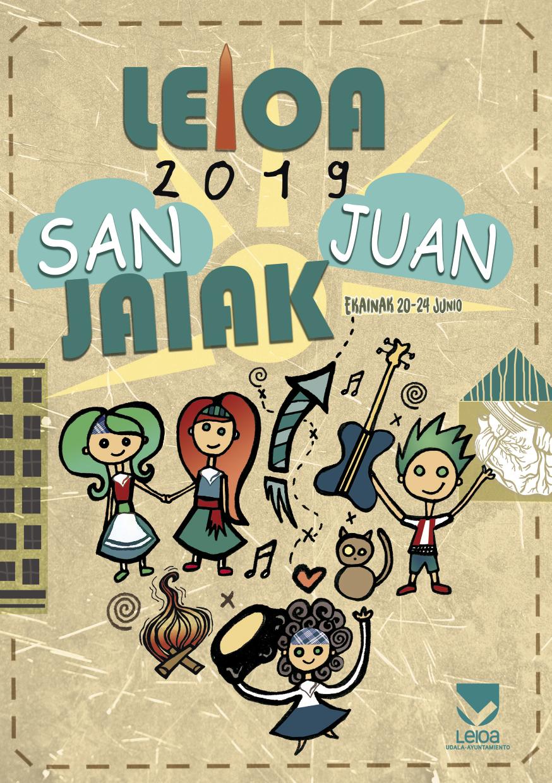 Cartel de fiestas de San Juan 2019