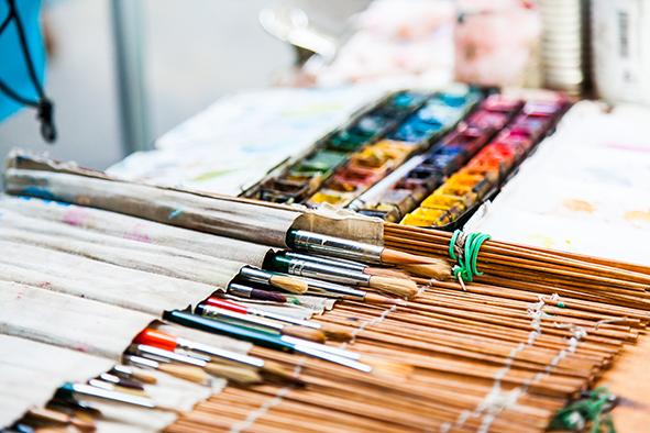 Exposición arte y artesanía