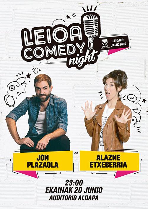 Leioa Comedy Night 2019