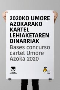 Concurso cartel Umore Azoka 2020
