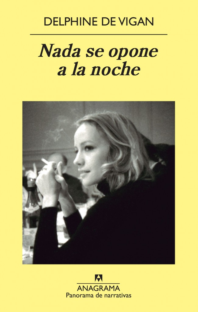 "Delphine de Vigan: ""Nada se opone a la noche"""