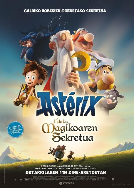 Astérix. Edabe magikoaren sekretua